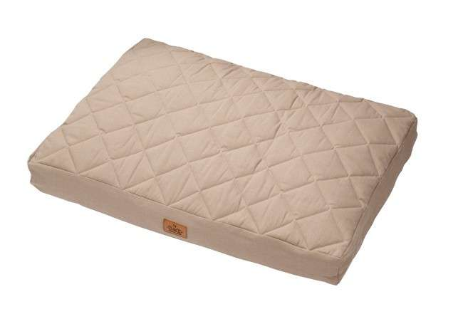 EBI D&D Cushion Perfect Quilt Brun clair 80x60/12 cm