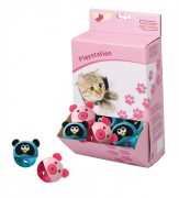 Europet-Bernina Cat Play Animal Head Roller 5 cm