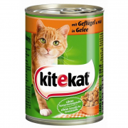 KitekatCanned Food with Poultry & Game in Jelly 400 g