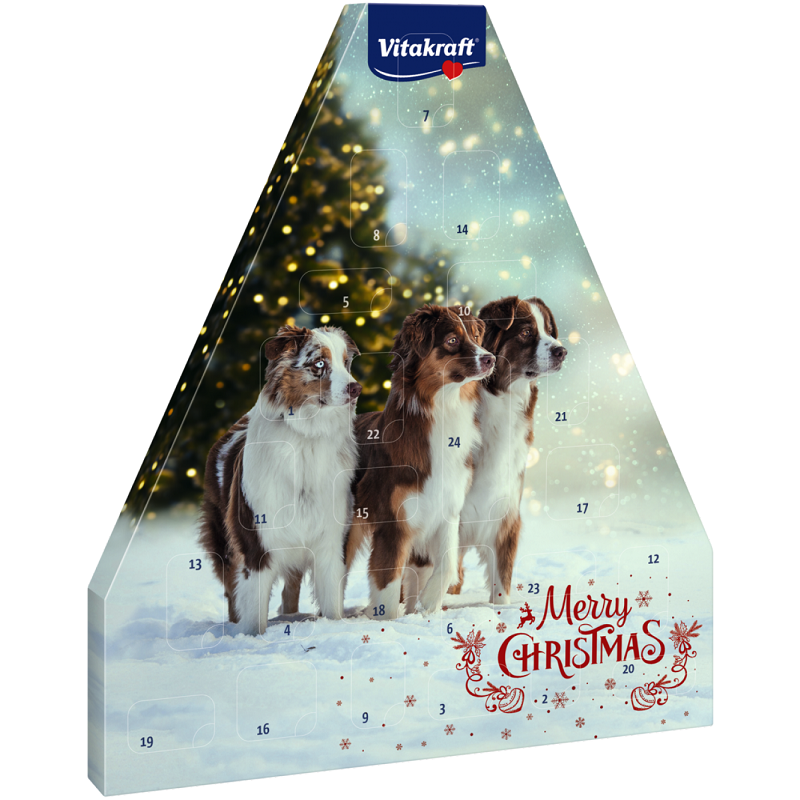 Vitakraft Adventskalender für Hunde 2017 192 g bei Zoobio.at