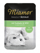 Miamor Ragout Royale in Sauce Turkey & Wild - EAN: 4000158740731