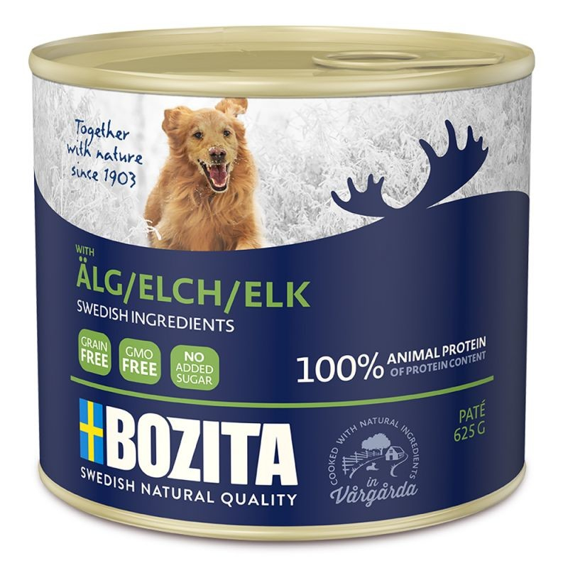 Paté Elk from Bozita 625 g, 200 g buy online
