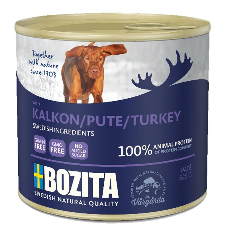Bozita Paté Turkey EAN: 7300330051608 reviews