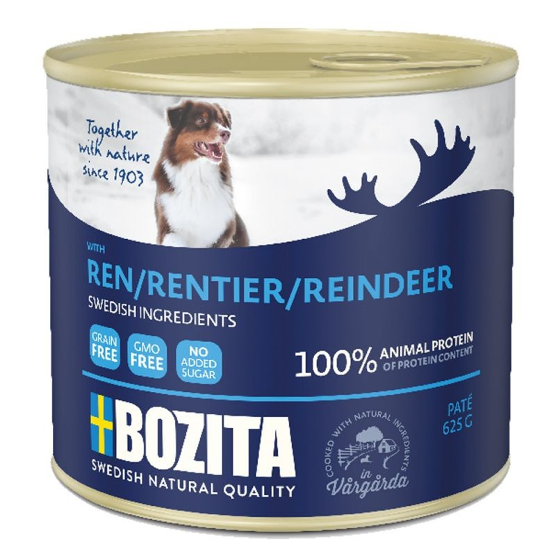 Bozita Paté con Renna in Lattina 625 g, 200 g