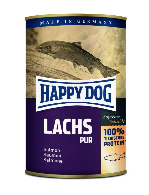 Happy Dog Supreme Sensible Lachs Pur 4001967099942