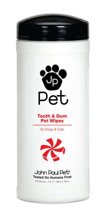 Tooth & Gum Pet Wipes 1 pcs   von John Paul Pet bei Zoobio.at