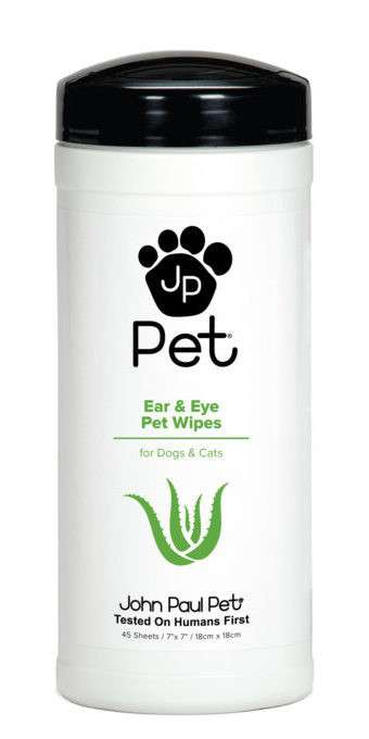 Ear & Eye Pet Wipes 45 pcs   von John Paul Pet bei Zoobio.at