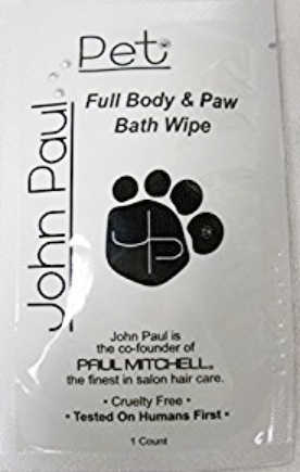 John Paul Pet Body & Paw Pet Wipes  1 pcs