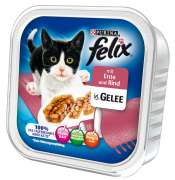 Felix Chunks with Duck and Beef in Jelly 100 g