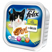 Felix Chunks with Wild & Poultry in Jelly - EAN: 4000487624504