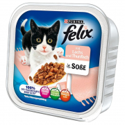 Felix Chunks in Sauce with Salmon and Tuna 100 g