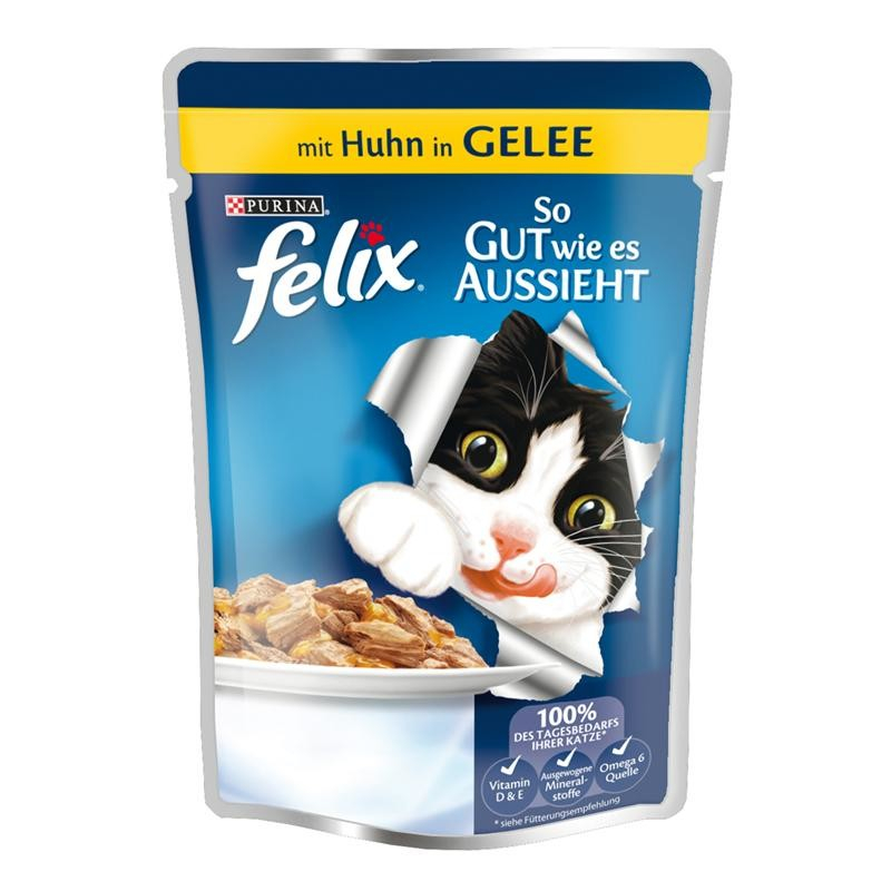 Felix As good as it looks with Chicken in Jelly 100 g