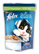 Felix As Good As It Looks with Rabbit in Jelly 100 g