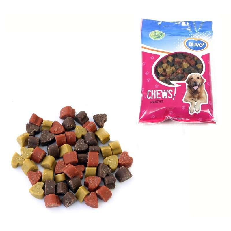 Soft Chew Hearts from DUVO+ 125 g buy online