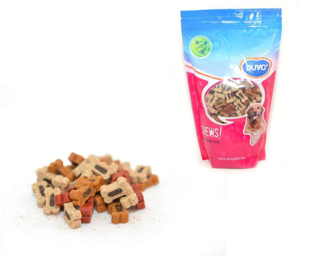 DUVO+ Soft chew duo Bone Mix Doypack 450 g 5414365062538 opiniones
