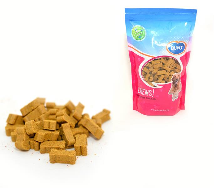 DUVO+ Soft Chew Mini Bone Pollo Doypack 450 g