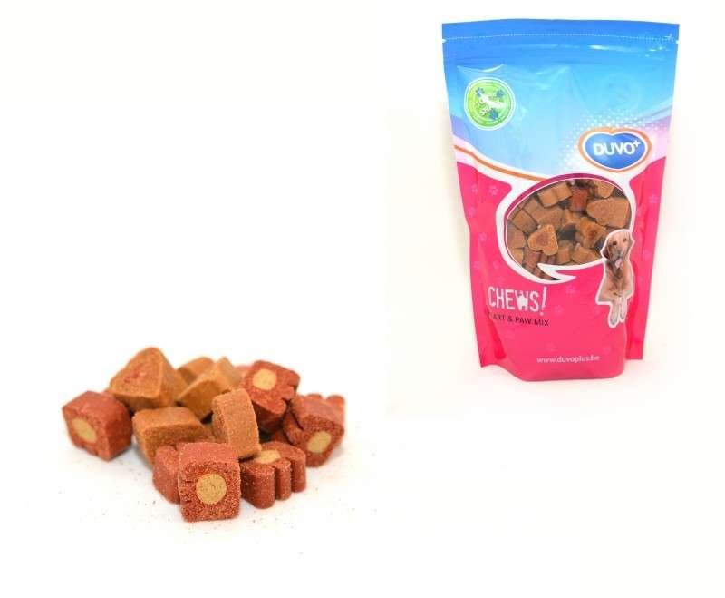 DUVO+ Soft Chew Mix Coeur/Patte doypack 450 g