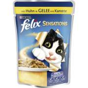 Felix Sensations with Chicken in Jelly with Carrot - EAN: 7613032608460