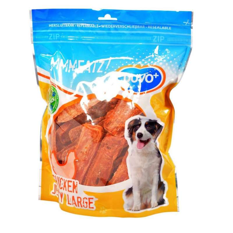 DUVO+ Chicken Jerky Large 100 g, 1 kg