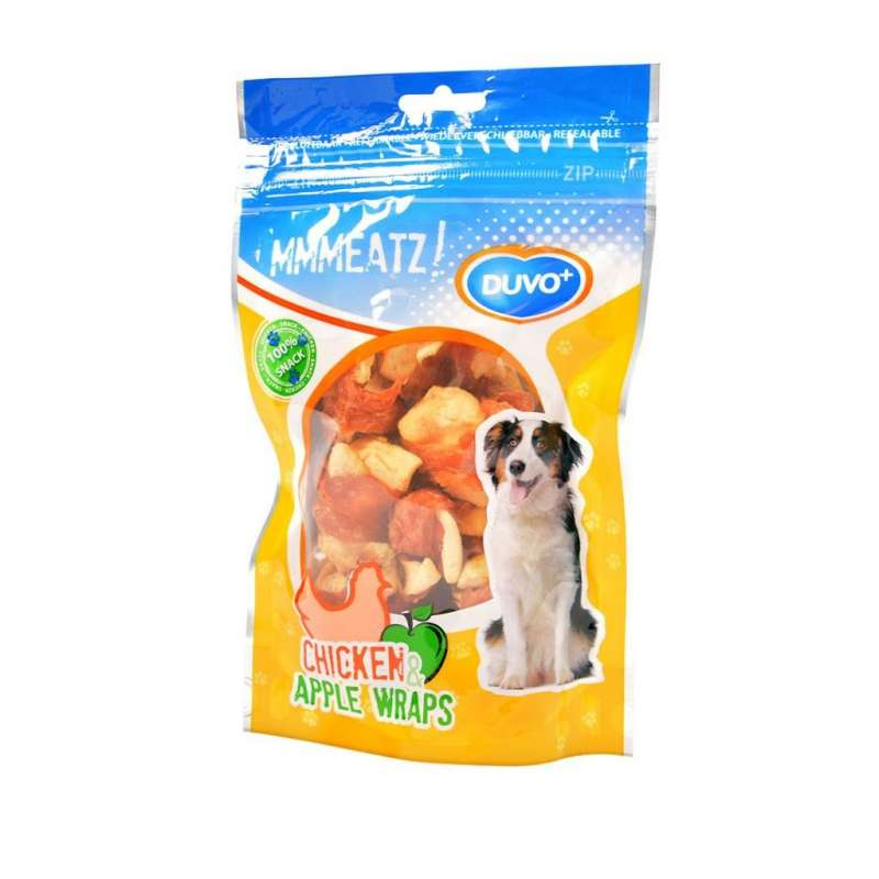 DUVO+ Chicken & Apple Wraps 100 g con uno sconto