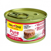 GimDog Little Darling Pure Delight Tuna with Beef 85 g