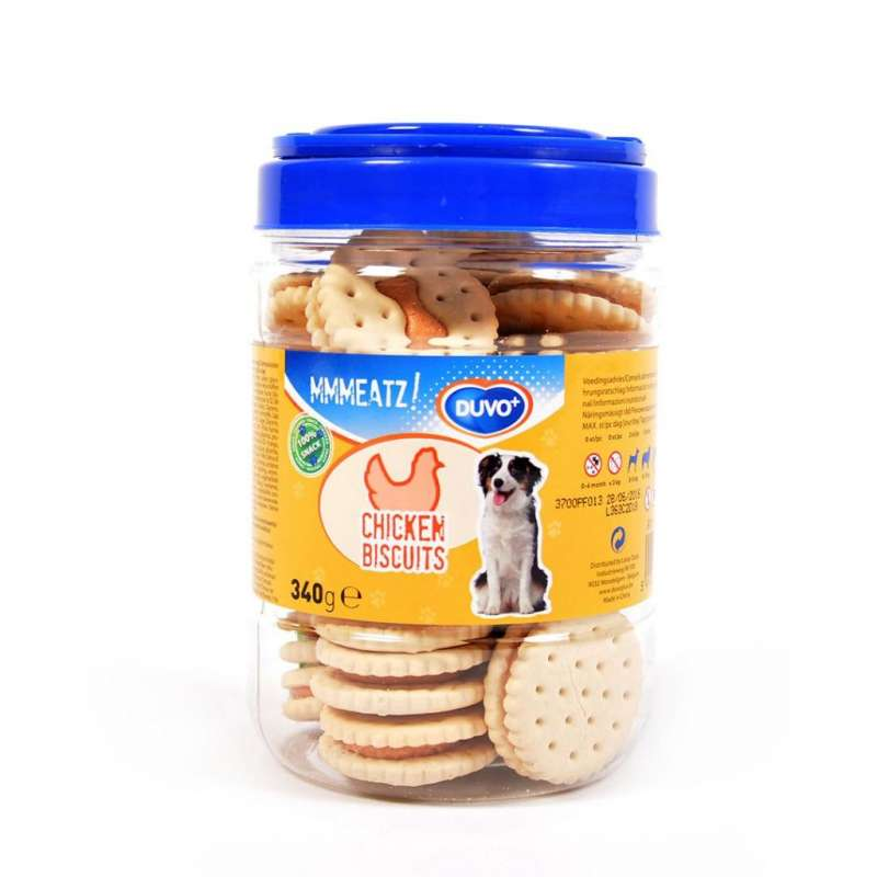 DUVO+ Biscuits with Chicken 340 g con uno sconto