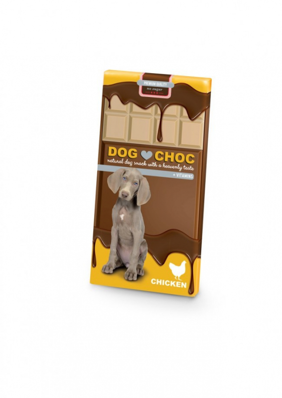 EBI Dog-Snack Dog Choc Pollo 100 g