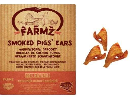 DUVO+ Farmz Smoked Pigs Ears