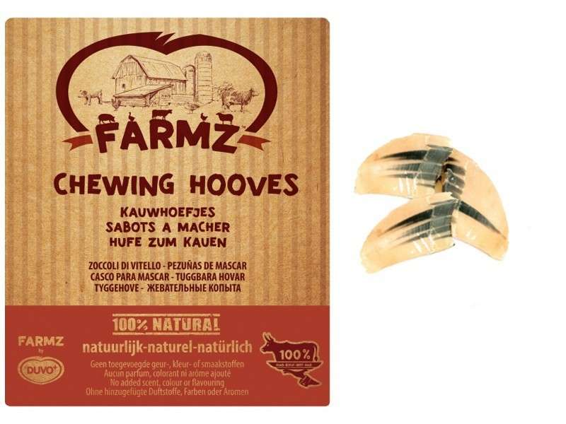 Farmz chewing Cow Hoof from DUVO+  buy online