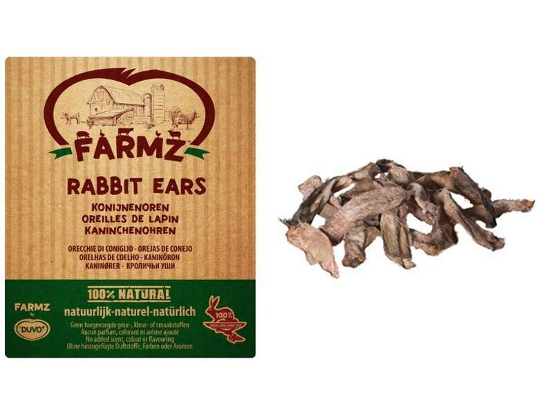 Farmz Rabbit Ears from DUVO+ 250 g buy online