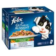 Felix Multipack As Good as it Looks with Country Recipes in Jelly 12x100 g