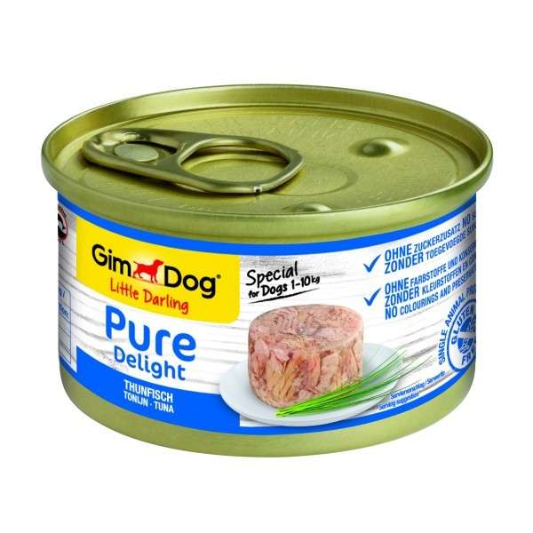 Little Darling Pure Delight Tuna from GimDog 85 g, 150 g buy online