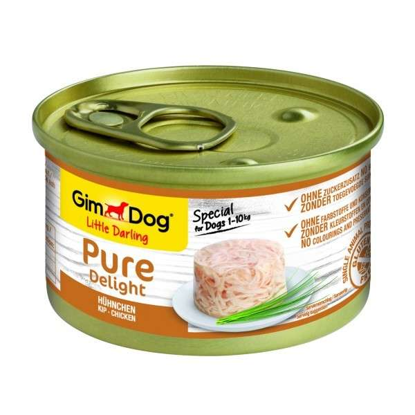 GimDog Little Darling Pure Delight Pollo 85 g, 150 g
