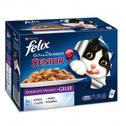 Multipack As Good As It Looks - Senior with Mixed Selection in Jelly from Felix 12x100 g