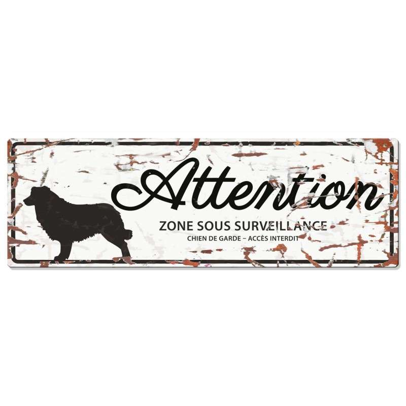 Europet-Bernina D&D Homecollection Plaque Attention Collie, Blanc  Attention au Chien, gris  4047059433805 avis