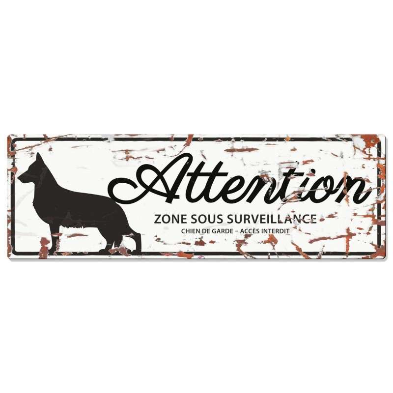 Europet-Bernina D&D Homecollection Plaque Attention Berger allemand, Blanc  Attention au Chien, gris  4047059433805 avis