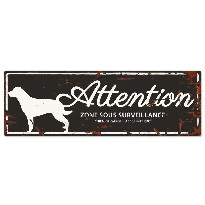 Europet-Bernina D&D Homecollection Plaque Attention Rottweiler, Noir  Attention au Chien, gris  4047059433805 avis