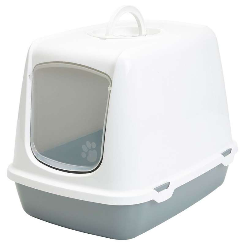Savic Cat Litter Box Oscar Retro  Light gray  order cheap