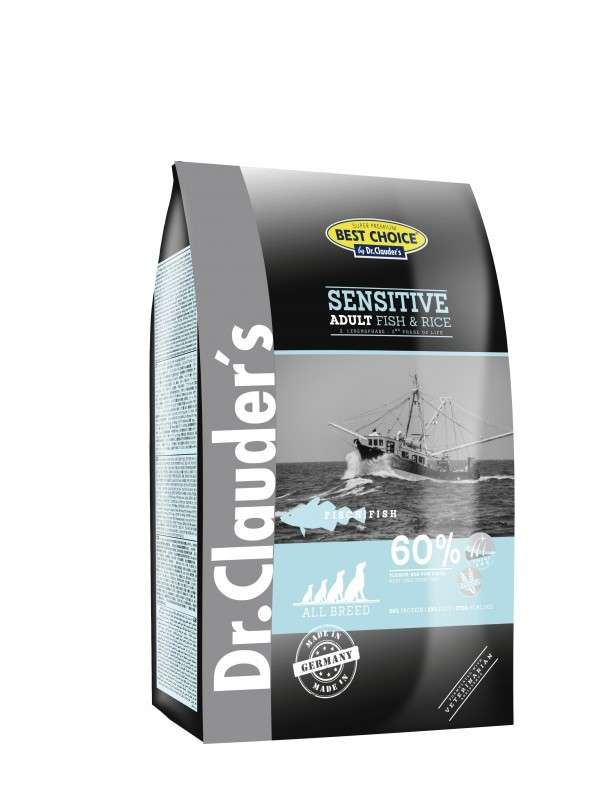 Best Choice Sensitive Adult Fisch & Reis All Breed von DR.Clauder 350 g online günstig kaufen