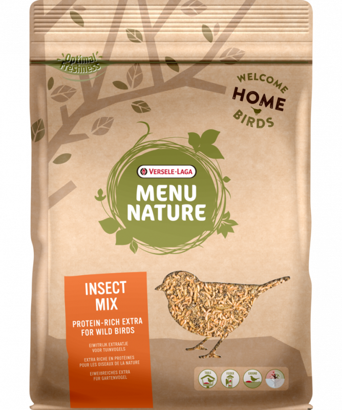 Versele Laga Menu Nature Insect Mix 250 g 5410340648124 erfaringer