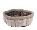 Scruffs Tramps AristoCat Ring Bed Brun beige