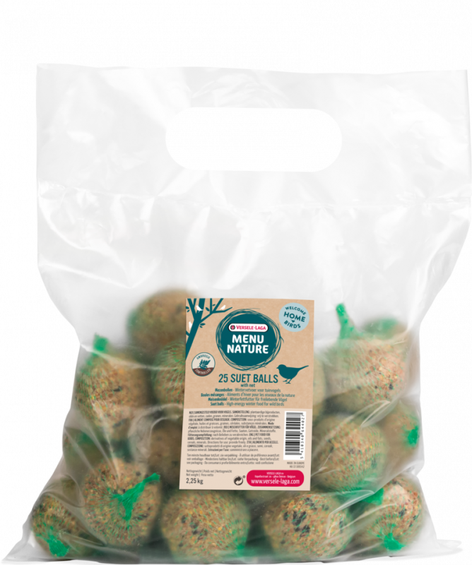 Versele Laga Menu Nature Suet Ball 25 pieces  2.25 kg