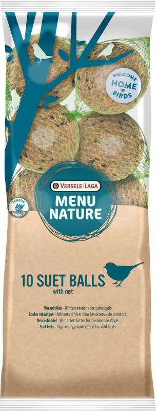 Versele Laga Menu Nature Suet ball 10 pieces 900 g