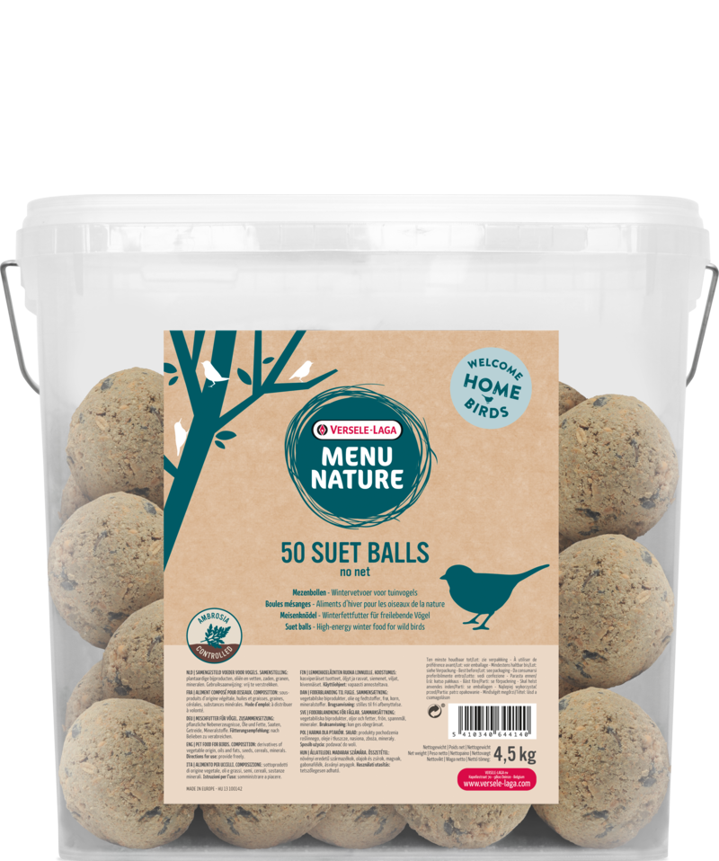 Versele Laga Menu Nature Suet ball No net (in bucket) 4.5 kg