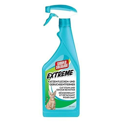 Simple Solution Détachant et Désodorisant pour Chat Extreme 750 ml