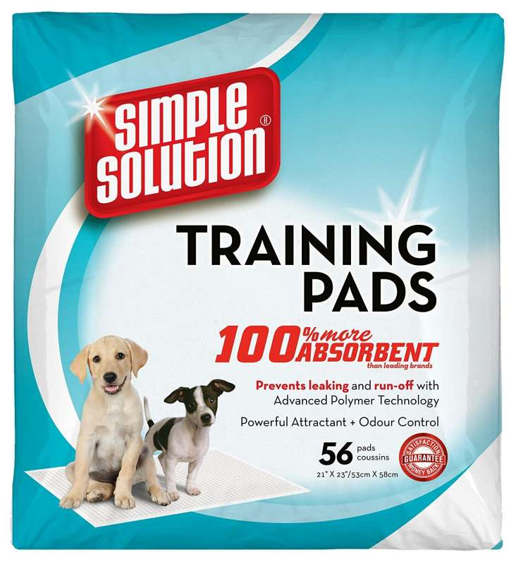 Puppy Training Pads 53х58 cm 56 pcs  från Simple Solution köp billiga på nätet