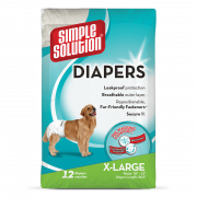 Simple Solution Disposable Dog Diapers X-Large