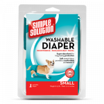 Simple Solution Washable Female Dog Diaper Small