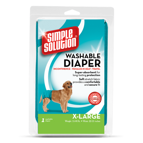 Simple Solution Waschbare Windeln X-Large  XL Aqua