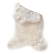Pets Nature Genuine sheepskin White